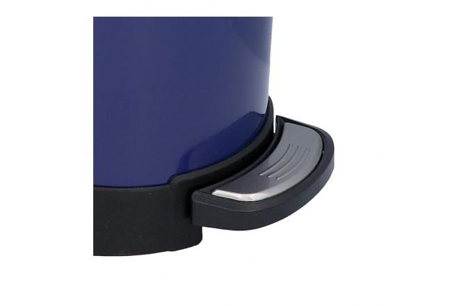 Papelera de Pedal/Caneca de basura FREE HOME Azul Oscuro - 10 Litros (Canecas)-5
