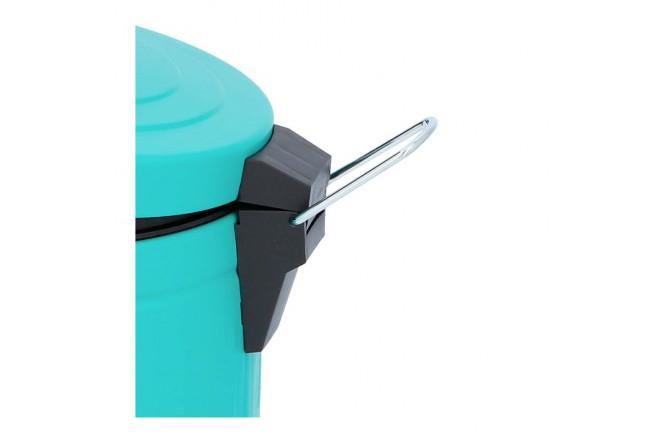 Papelera de Pedal/Caneca de basura Verde Menta - 5 Litros (Canecas)-5