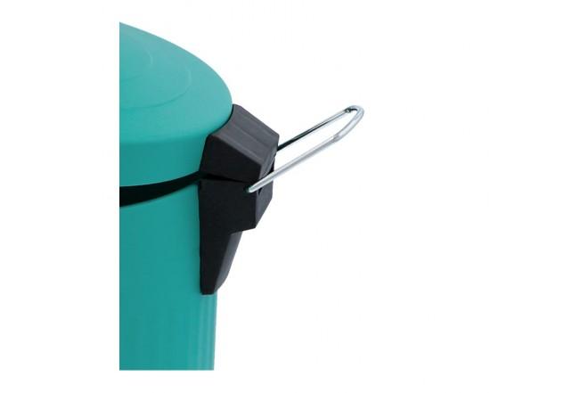 Papelera de Pedal/Caneca de basura FREE HOME Agua Marina - 12 Litros (Canecas)-6