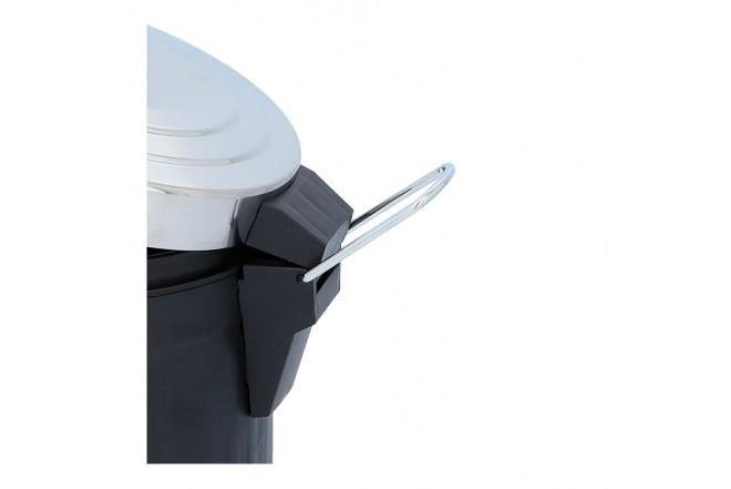 Papelera de Pedal FREE HOME Negra - 3 Litros (Canecas)-5