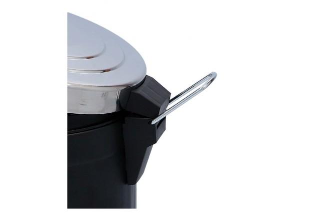 Papelera de Pedal/Caneca de basura FREE HOME Negro Mate - 5 Litros (Canecas)-6