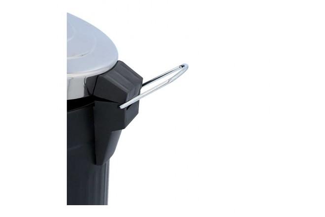Papelera de Pedal/ Caneca de basura FREE HOME Negro Mate - 12 Litros (Canecas)-6