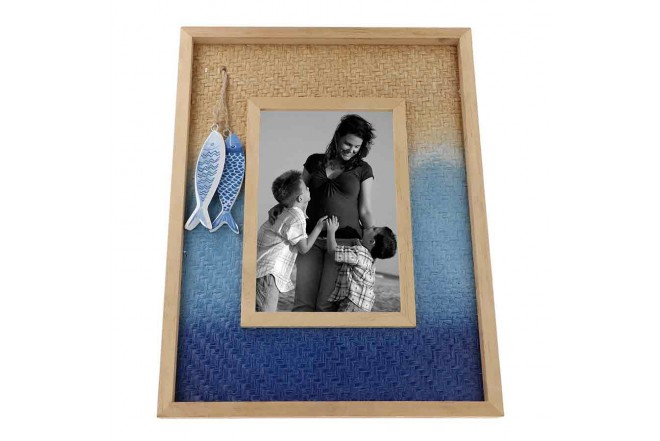 Portaretrato FREE HOME Rectangular Pescados (Portarretratos y Cuadros)-5