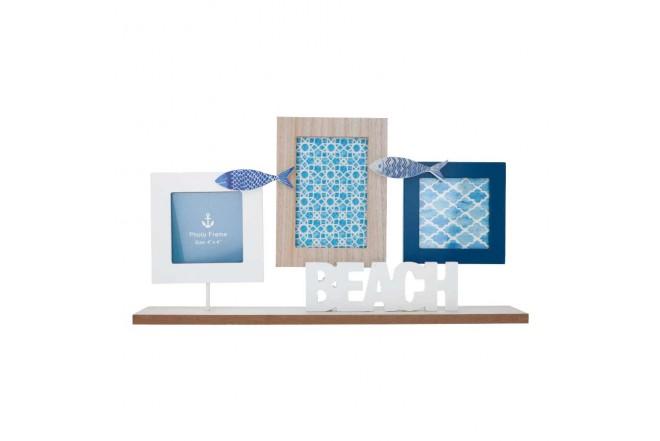 Portaretrato FREE HOME Set x 3 Piezas Pescado (Portarretratos y Cuadros)-1