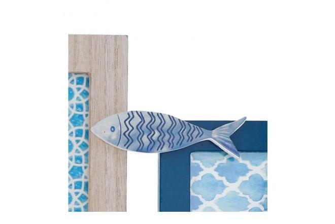 Portaretrato FREE HOME Set x 3 Piezas Pescado (Portarretratos y Cuadros)-4