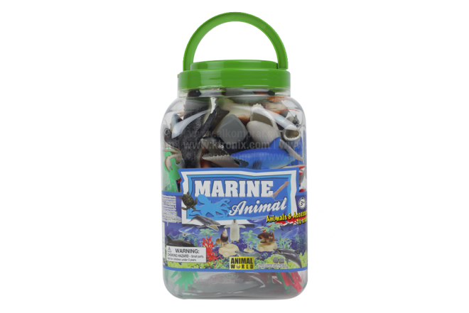 Juguete Balde Marine Animals