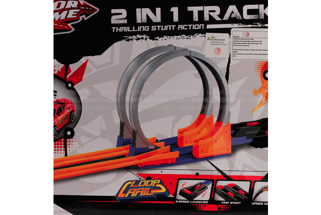 Pista 2 in 1 Speed Track Set