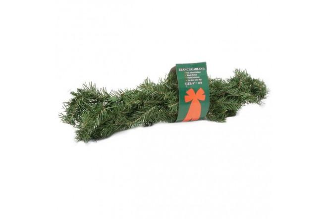 NAVIDAD Guirnalda Canadian Pine de 200 cm