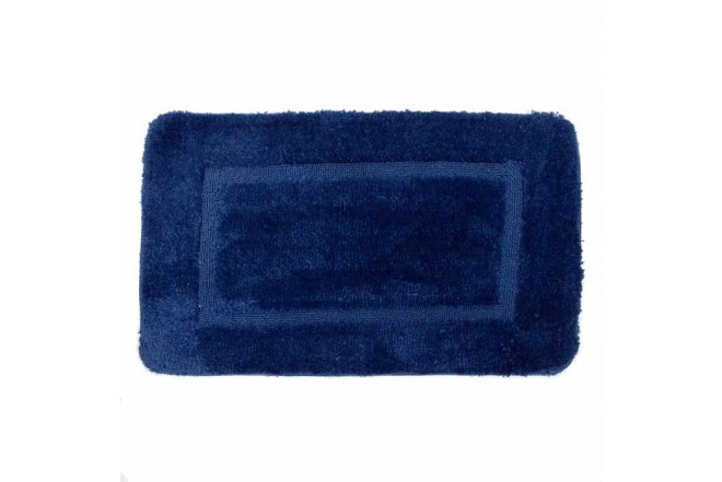 Tapete de baño FREEHOME Antideslizante 50 x 80 cm Azul Navy