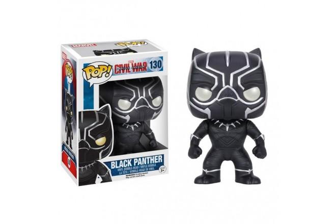FUNKO POP! Figura Pop Capitán América 3 Pantera Negra