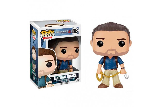 FUNKO POP! Unchrated-4 Nathan Drake