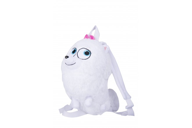 Mochila Gidget Secret Life Of Pets Blanco