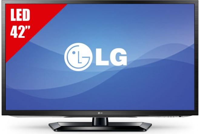 """TV 42"""" LED LG 42LM5800 FHD 3D"""
