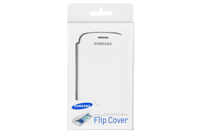 Flip Cover SAMSUNG S3 Mini Blanco
