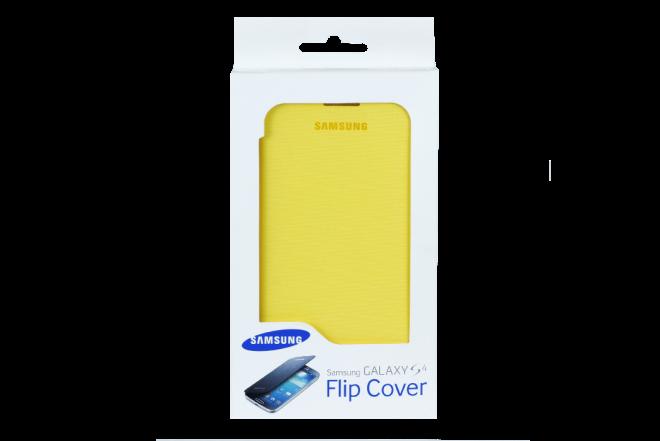 Flip Cover SAMSUNG S4 Amarillo