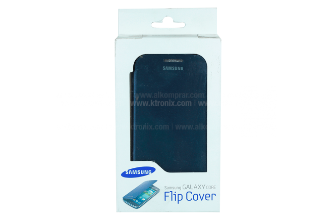 Flip Cover SAMSUNG Galaxy Core Azul