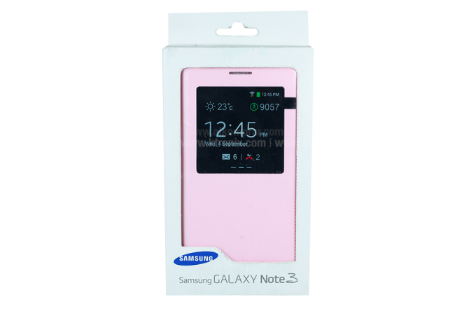Sview Cover Cuero SAMSUNG Galaxy Note 3 Rosado