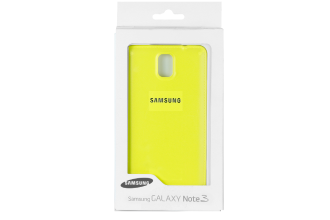 Back Cover SAMSUNG Note3 Verde Lima