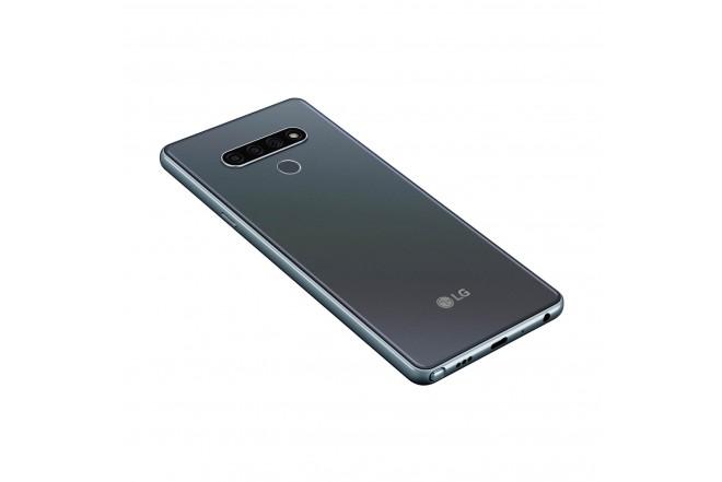Celular LG K71 128GB Gris-9