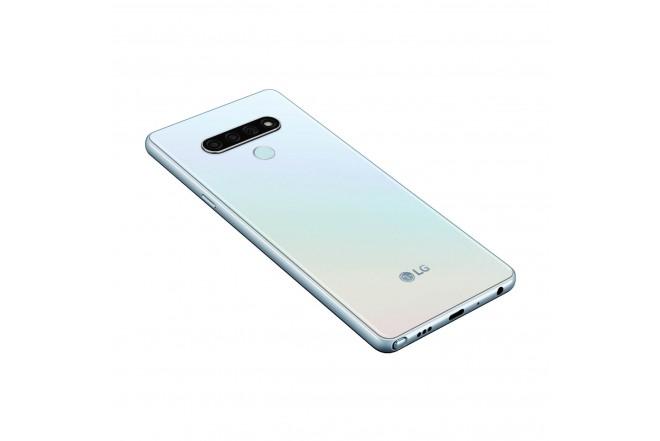 Celular LG K71 128GB Blanco-9