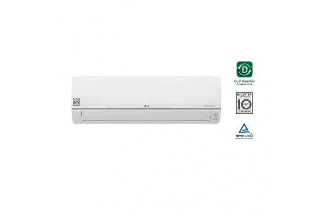 Aire Acondicionado LG 18000 BTU Tipo Split Inverter Dual Cool 220V Blanco2