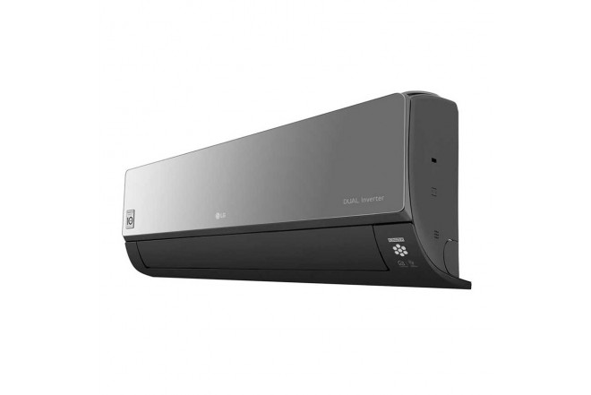 Aire Acondicionado LG Inverter 12000 BTU VR122 220V Negro8