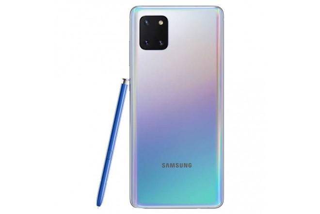 Celular SAMSUNG Galaxy Note 10 Lite 128GB Plateado8