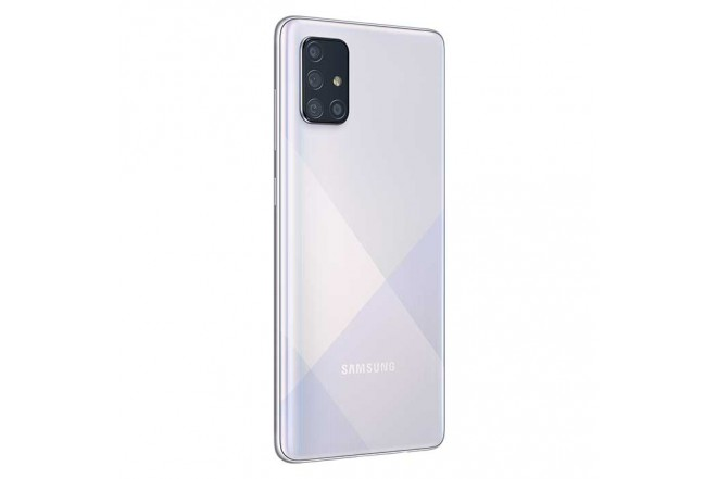 Celular SAMSUNG  Galaxy A71 - 128GB Plateado4