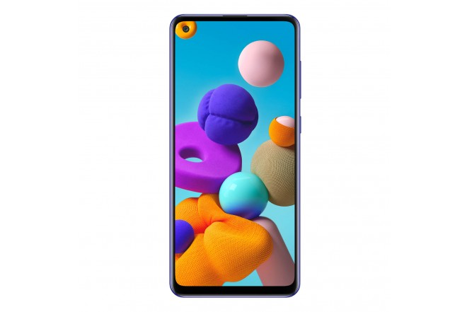 Celular SAMSUNG Galaxy A21S-128 GB Azul-1