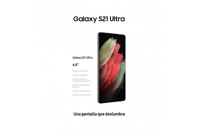 Celular SAMSUNG Galaxy S21 Ultra 256GB Plateado-6