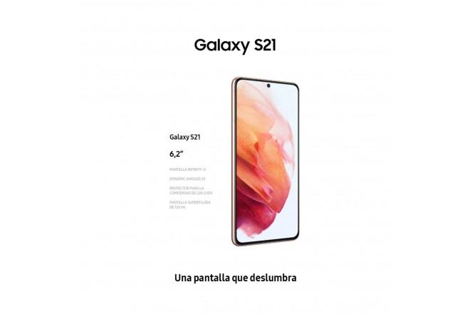 Celular SAMSUNG Galaxy S21 128GB Blanco-5