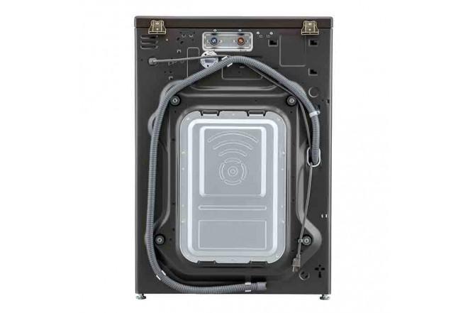 Lavadora Secadora LG Carga Frontal Victor Black Steel  22 Kg WD22BV2S6B Sistema de Lavado 6MotionDD 7