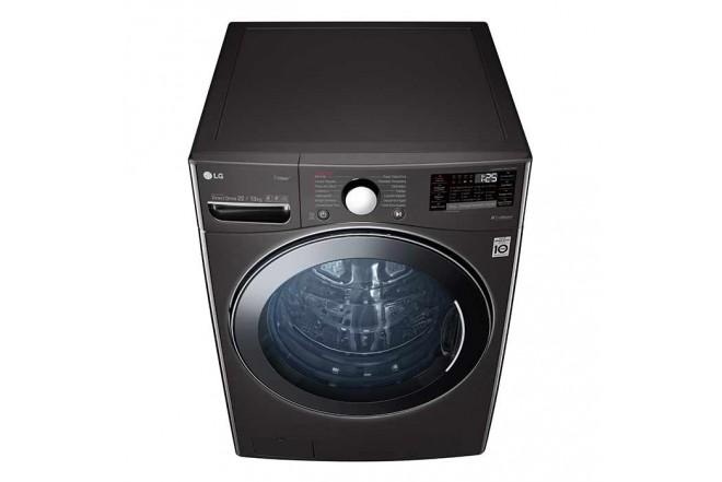Lavadora Secadora LG Carga Frontal Victor Black Steel  22 Kg WD22BV2S6B Sistema de Lavado 6MotionDD 14