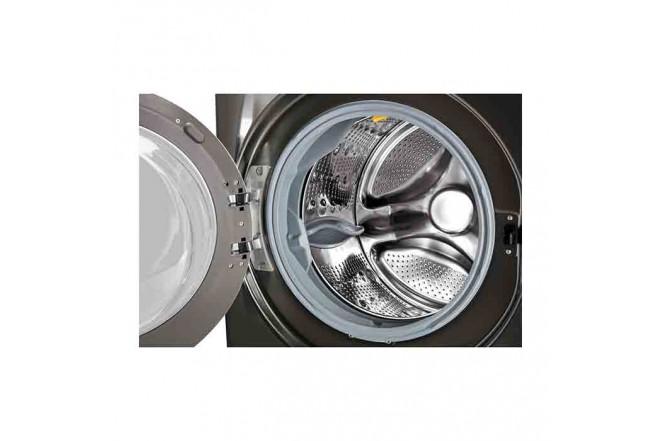Lavadora Secadora LG Carga Frontal Victor Black Steel  22 Kg WD22BV2S6B Sistema de Lavado 6MotionDD 10