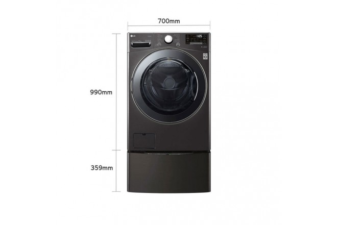 Combo LG Twin Wash Two22Bv2S Negro  102