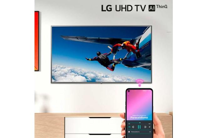 "TV LG 86"" Pulgadas 217 Cm 86UN8000 LED 4K-UHD Plano Smart TV8"