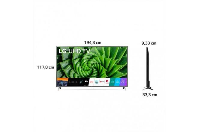 "TV LG 86"" Pulgadas 217 Cm 86UN8000 LED 4K-UHD Plano Smart TV9"
