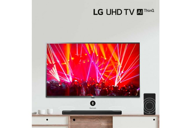 "TV LG 60"" Pulgadas 151 Cm 60UN7310 LED 4K-UHD Plano Smart TV7"