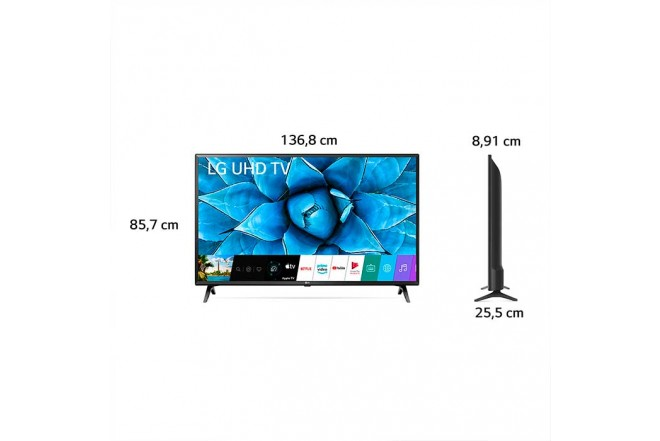 "TV LG 60"" Pulgadas 151 Cm 60UN7310 LED 4K-UHD Plano Smart TV9"