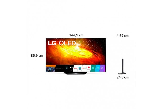 "TV LG 65"" Pulgadas 164 Cm 65BX OLED 4K-UHD Plano Smart TV7"