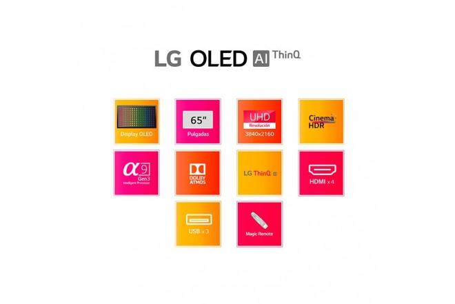 "TV LG 65"" Pulgadas 164 Cm 65BX OLED 4K-UHD Plano Smart TV10"