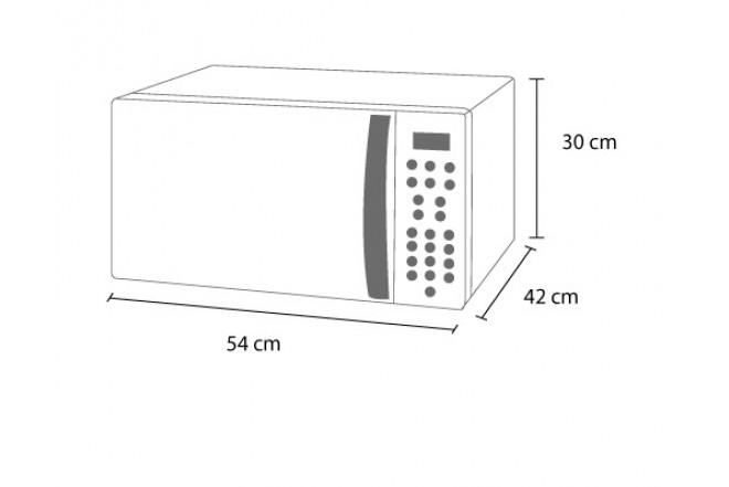 Horno Microondas WHIRLPOOL 1,1P WMCSG111XD