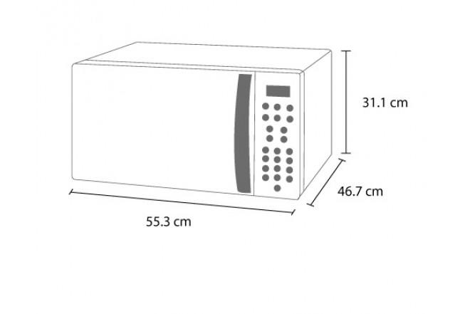 Horno Microondas WHIRLPOOL 1.4 WMCSG141XD Silver