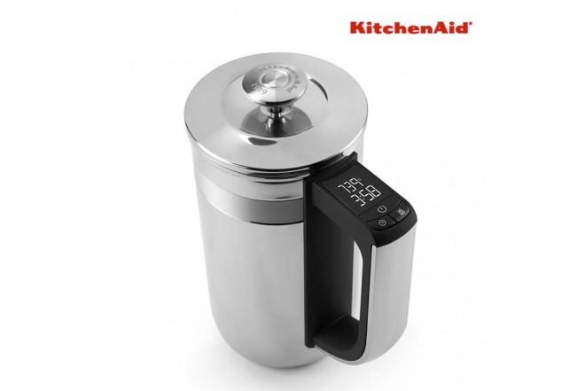 Cafetera KITCHENAID Prensa France S 3T Silver KCM0512SS