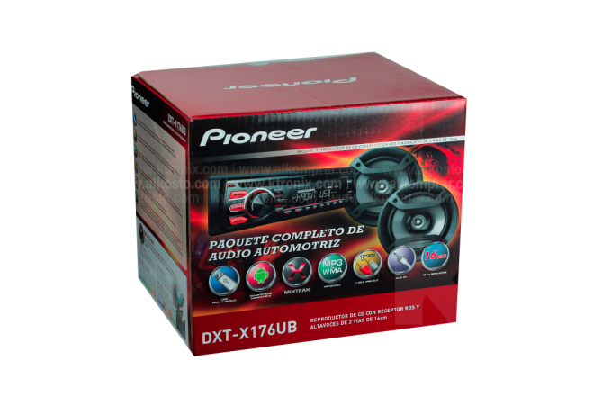 Combo Car Audio PIONEER DXT-X176UB