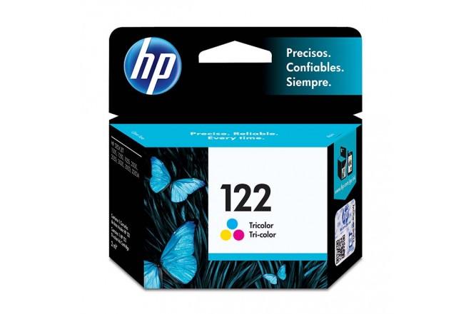 Cartucho de tinta HP 122 Tricolor Original CH562HL