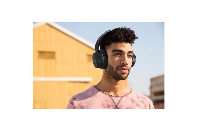 Audífonos de Diadema PANASONIC Inalámbricos Bluetooth Over Ear HF520 Negro
