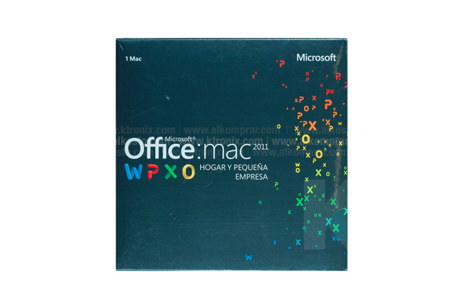 Office Mac Home & Business  1 PC 2011