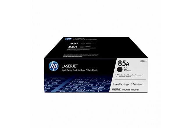 Toner HP 85A Dual Pack Black