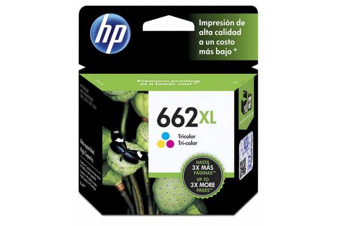 Cartucho de tinta HP 662XL Tricolor Original CZ106AL